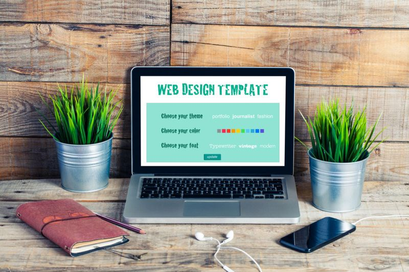 Free templates and site themes