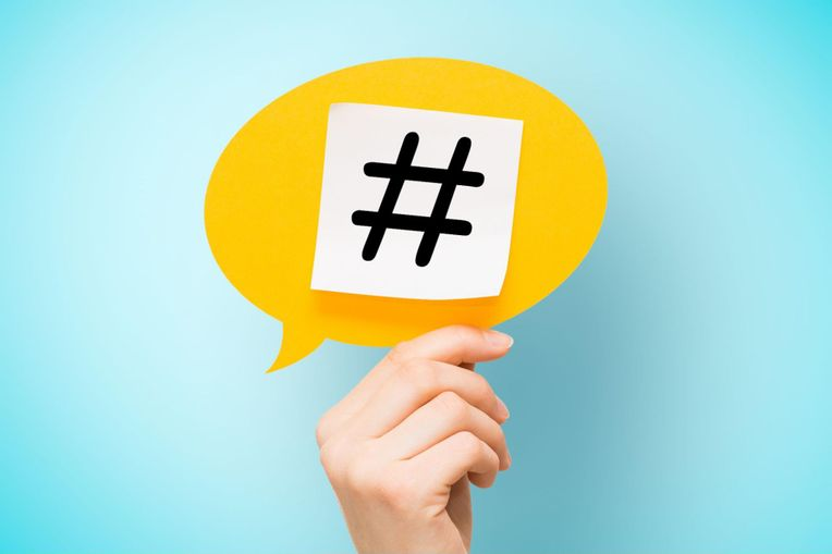 creating a hashtag for a virtual event
