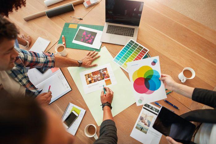 marketing professionals planning TikTok advertising strategy